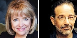 Barbara Loe Fisher and Marco Cáceres