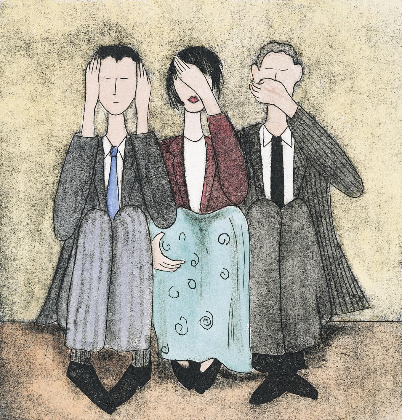 three deniers