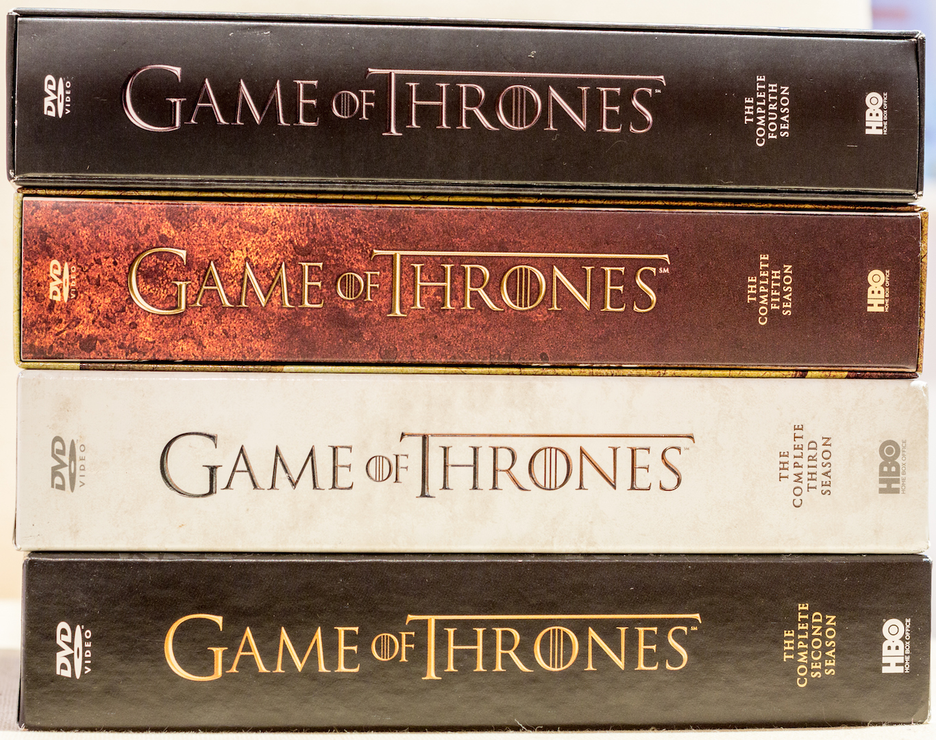 Game of Thrones DVD Box-sets