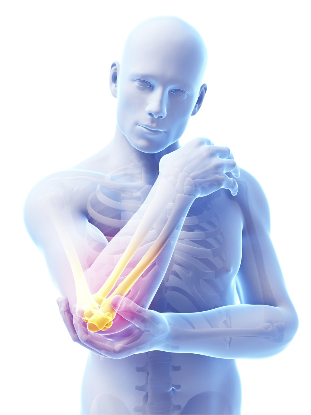 inflamed-elbow-joint
