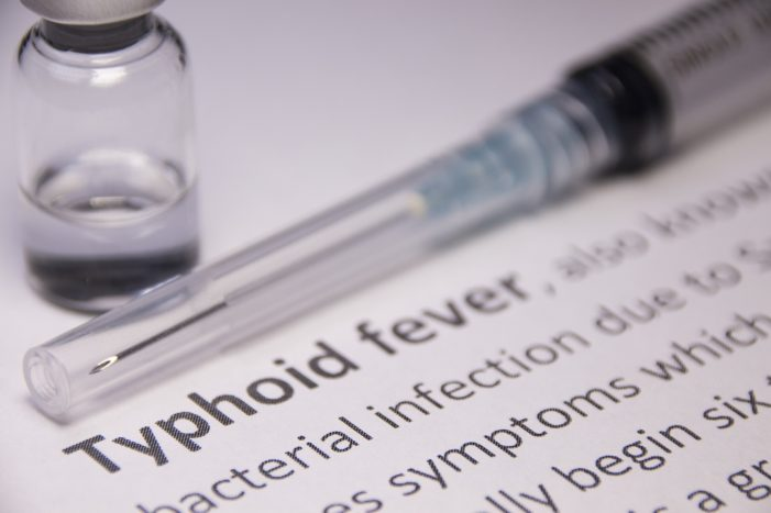 WHO Recommends New Typhoid Vaccine