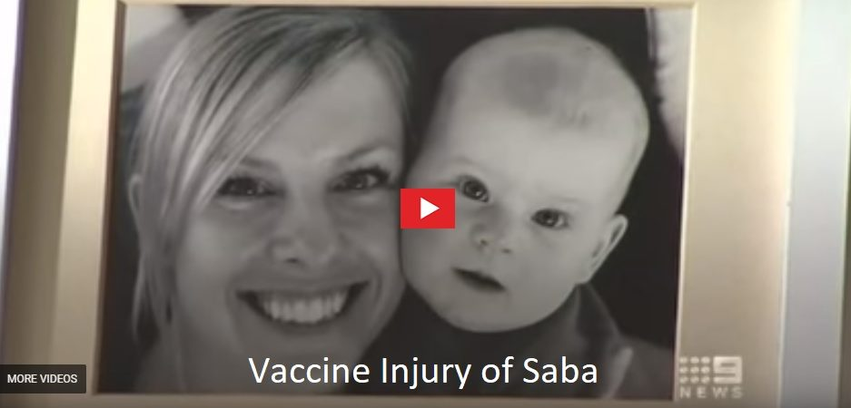 Vaccine Injury of Saba
