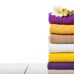 stack of soft towels