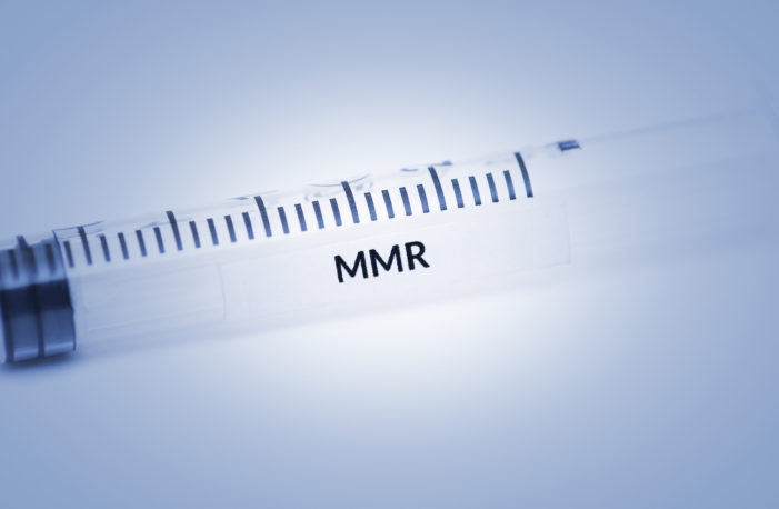 Virus Enzyme Found in MMR Vaccine