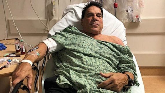 'Incredible Hulk' Actor Hospitalized After Getting Pneumococcal Shot