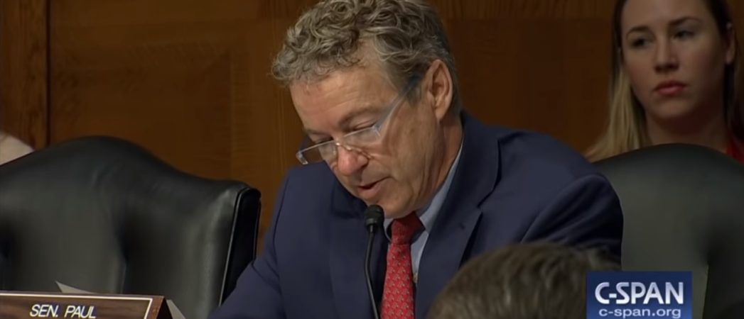 Sen. Rand Paul Says Vaccines Give a False Sense of Security