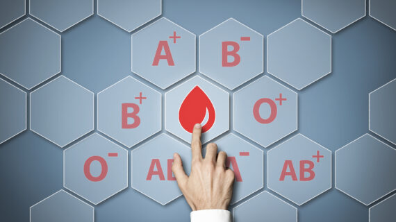 Blood Type May Affect Vulnerability to COVID-19