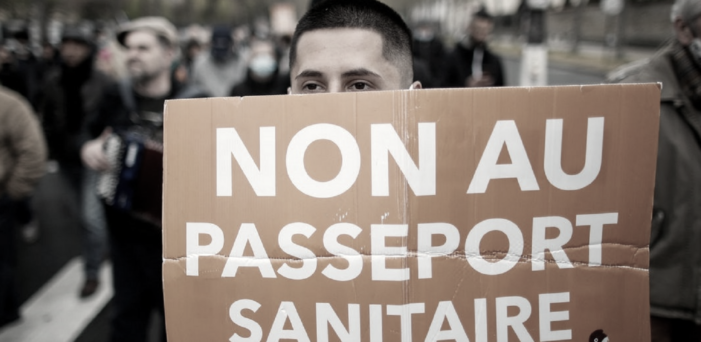 Mass Protests in Greece and France Opposing  COVID-19 Vaccine Mandates and Health Passports